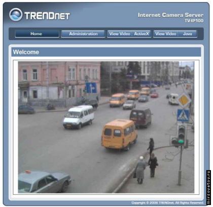 Изображение с IP видеокамеры